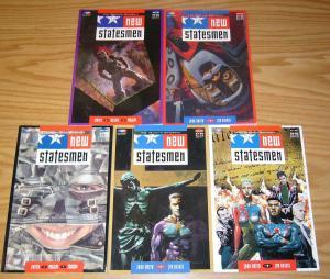 New Statesmen #1-5 VF/NM complete series - john smith - jim baikie sean phillips