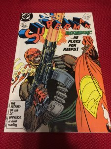 Superman #4 DC Bloodsport (1987) VF/NM