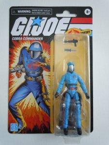 Hasbro G.I. Joe Retro Collection Cobra Commander 3.75 Inch