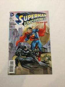 Superman Unchained 7 Variant NM Near Mint