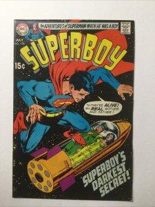 Superboy 158 Very Fine Vf 8.0 DC Comics