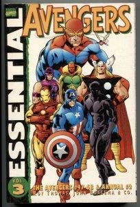 Essential Avengers Vol. 3 Paperback-VG