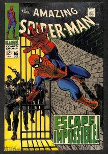 Amazing Spider-Man #65 FN- 5.5 Marvel Comics Spiderman