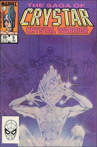 Marvel THE SAGA OF CRYSTAR CRYSTAL WARRIOR #5 FN/VF