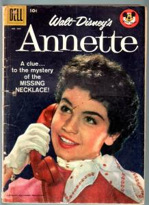 ANNETTE -DELL FOUR COLOR COMICS #905-PHOTO COVER-MICKEY MOUSE CLUB-FR FR