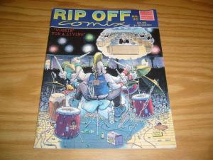 Rip Off Comix #25 FN (1st) mary fleener - gilbert shelton - joshua quagmire 1989