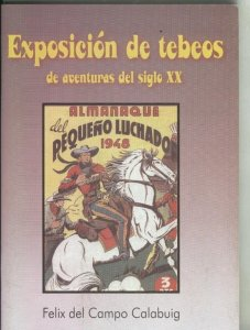 Catalogo Exposicion de tebeos de aventuras del siglo XX