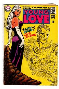 YOUNG LOVE #68 comic book-DC ROMANCE-GOOD ISSUE-Lisa St. Claire