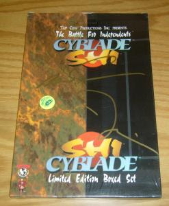 Cyblade/Shi Limited Edition Box Set NEW - SEALED signed