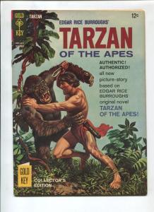 TARZAN #155 1965-GOLD KEY-EDGAR RICE BURROUGHS-NM