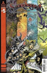 Swordquest (Dynamite) #5C VF; Dynamite | save on shipping - details inside