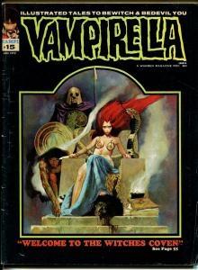 Vampirella #15 1972-Warren-horror-decapitation cover-VG-