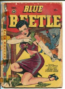 BLUE BEETLE #51 1947-FOX-JACK KAMEN-MATT BAKER-GOOD GIRL ART-SPICY-BONDAGE-pr