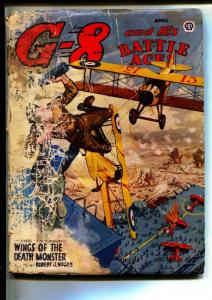 G-8 And His Battle Aces-Pulps-4/1944-Robert J. Hogan