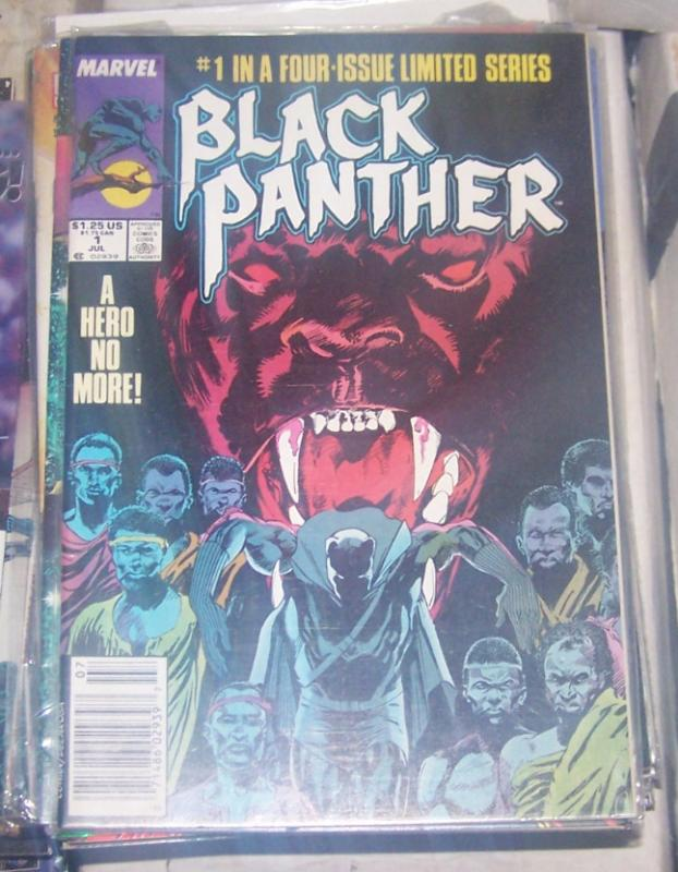 Black Panther #1 (Jul 1988, Marvel) mini series wakanda tchalla