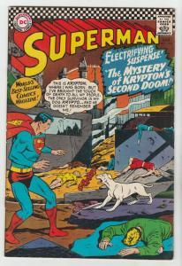Superman #189 (Aug-66) VF+ High-Grade Superman