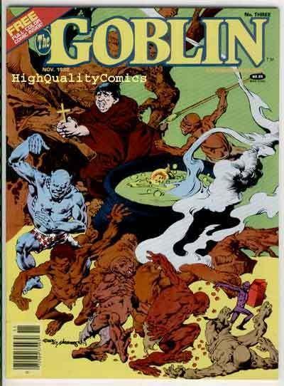 GOBLIN #3, Warren, Tin Man, Alex Nino, Gremlin, VF/NM, Luis Bermejo,  1982