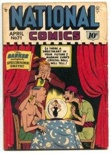 National Comics #71 1948- Barker- Quicksilver G