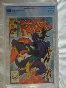 New Mutants #14 - CBCS 9.8 - 1st Appearance of Magik