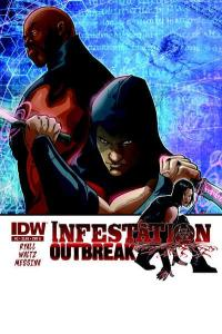 Infestation: Outbreak #2, NM (Stock photo)