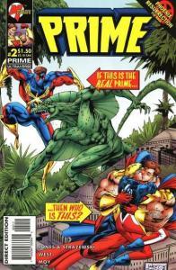 Prime (1995 series) #2, NM- (Stock photo)