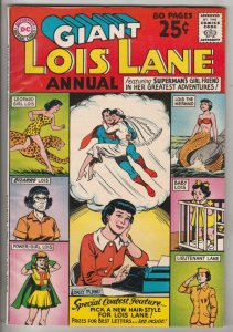 Lois Lane, Superman's Girlfriend, Annual #1 (Jul-62) VF/NM High-Grade Superma...