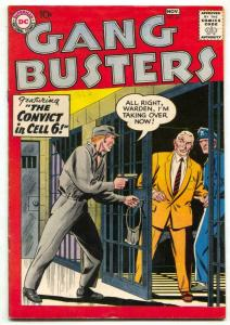 Gang Busters #66 1958-DC Silver Age comics FN-