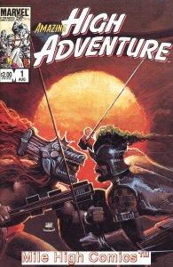 AMAZING HIGH ADVENTURE (MARVEL EPIC) (1984 Series) #1 Very Fine Comics Book