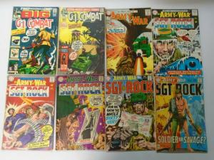 Silver Age of DC War Comics Lot, 34 Different, Average 4.0
