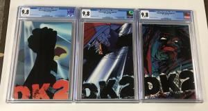 Batman Dark Knight Strikes Again 1 2 3 Cgc 9.8 + Free 1-3 Nm Set!
