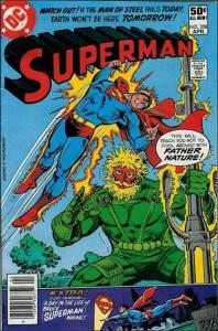 DC SUPERMAN (1939 Series) #356 VG+