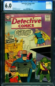 DETECTIVE #256 1958-DC-CGC 6.0-BATMAN-MARTIAN MANHUNTER 1280487003