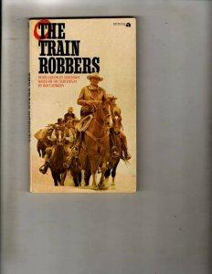 2 Pocket Books The Train Robbers, Mork & Mindy JL22