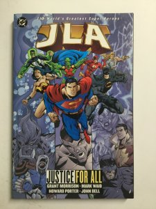 JLA Justice For All Tpb Softcover Sc Near Mint Nm Dc Comics
