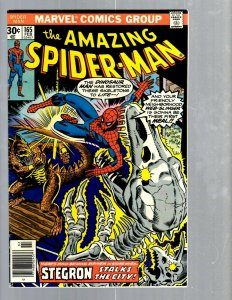 Amazing Spider-Man # 165 VF Marvel Comic Book MJ Vulture Goblin Scorpion TJ1