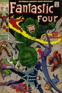 Fantastic Four #83 (ungraded) stock photo / SCM