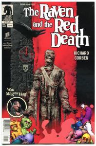 The RAVEN & the RED DEATH, VF, Richard Corben, Edgar Poe, 2013, more RC in store