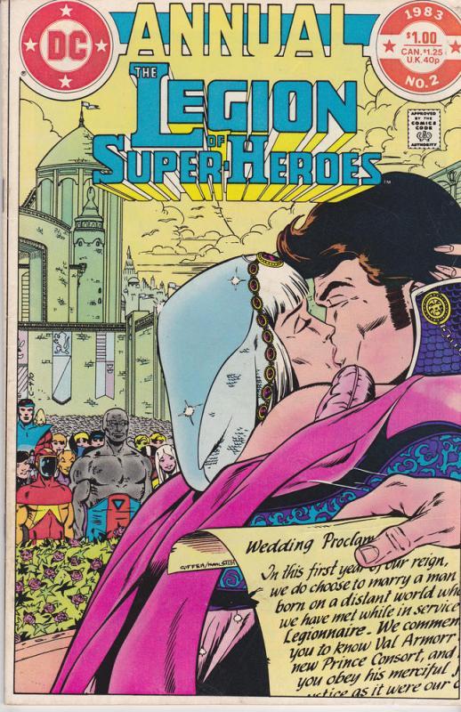 Legion of Super-Heroes Annual #2