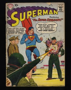Superman #122 GD 2.0
