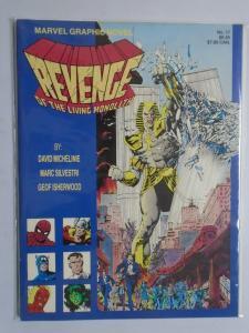 Revenge of the Living Monolith #1 - GN - 1st First Print - 8.0? - 1985