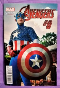Michael Cox AVENGERS #0 Cosplay 1:15 Incentive Retailer Variant (Marvel, 2015)!