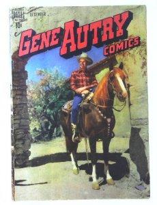 Gene Autry Comics (1946 series) #22, Fine (Actual scan)