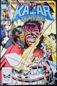Ka-Zar Comic #29. Double Sized Wedding Issue! KEY!! NM!!