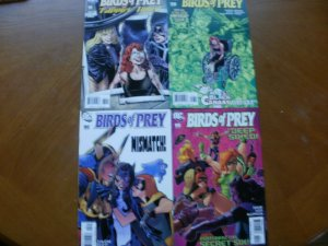 4 DC Comic: BIRDS OF PREY #99 Class #100 Black Canary #103 Truth Dare #105 Six