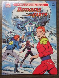Defenders of the Earth: The Deep Freeze Golden Big Coloring Book Phantom Flash G