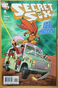 Secret Six #4 (2009) Ice Creeps !