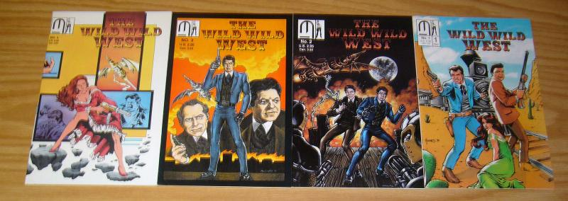 Wild, Wild West #1-4 VF/NM complete series ADAM HUGHES from classic tv show 2 3