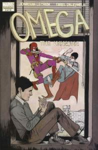 Omega: The Unknown (2nd Series) #2 VF/NM; Marvel   save on shipping - details in