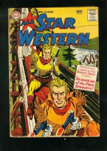 ALL-STAR WESTERN #93 1957-TRIGGER TWINS-JOHNNY THUNDER-very good minus VG-
