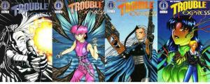 TROUBLE EXPRESS (1998 RADIO COMIX) 1B,2-4  Will Alison